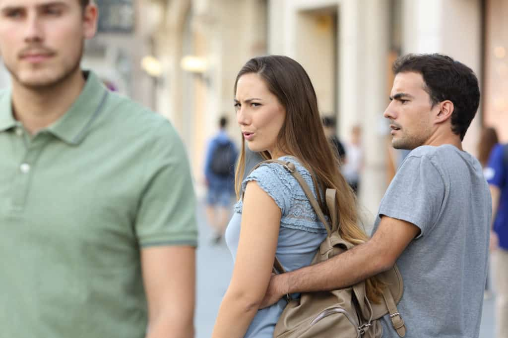 remember that infidelity in the relationship justifies and nurtures a feeling of being jealous