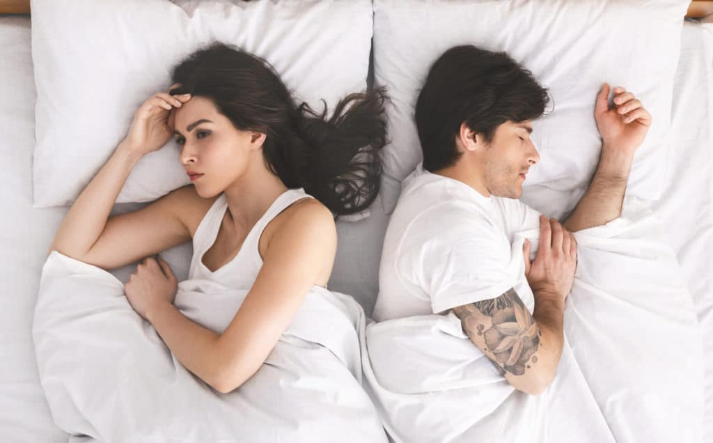 reduce/absent physical intimacy