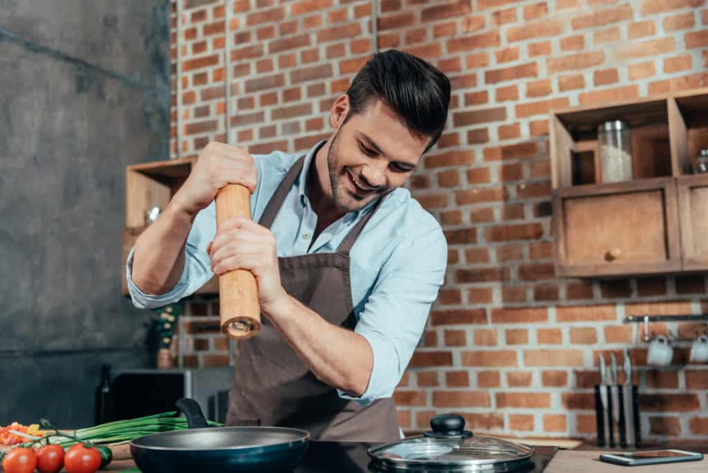 a man who cooks is mature