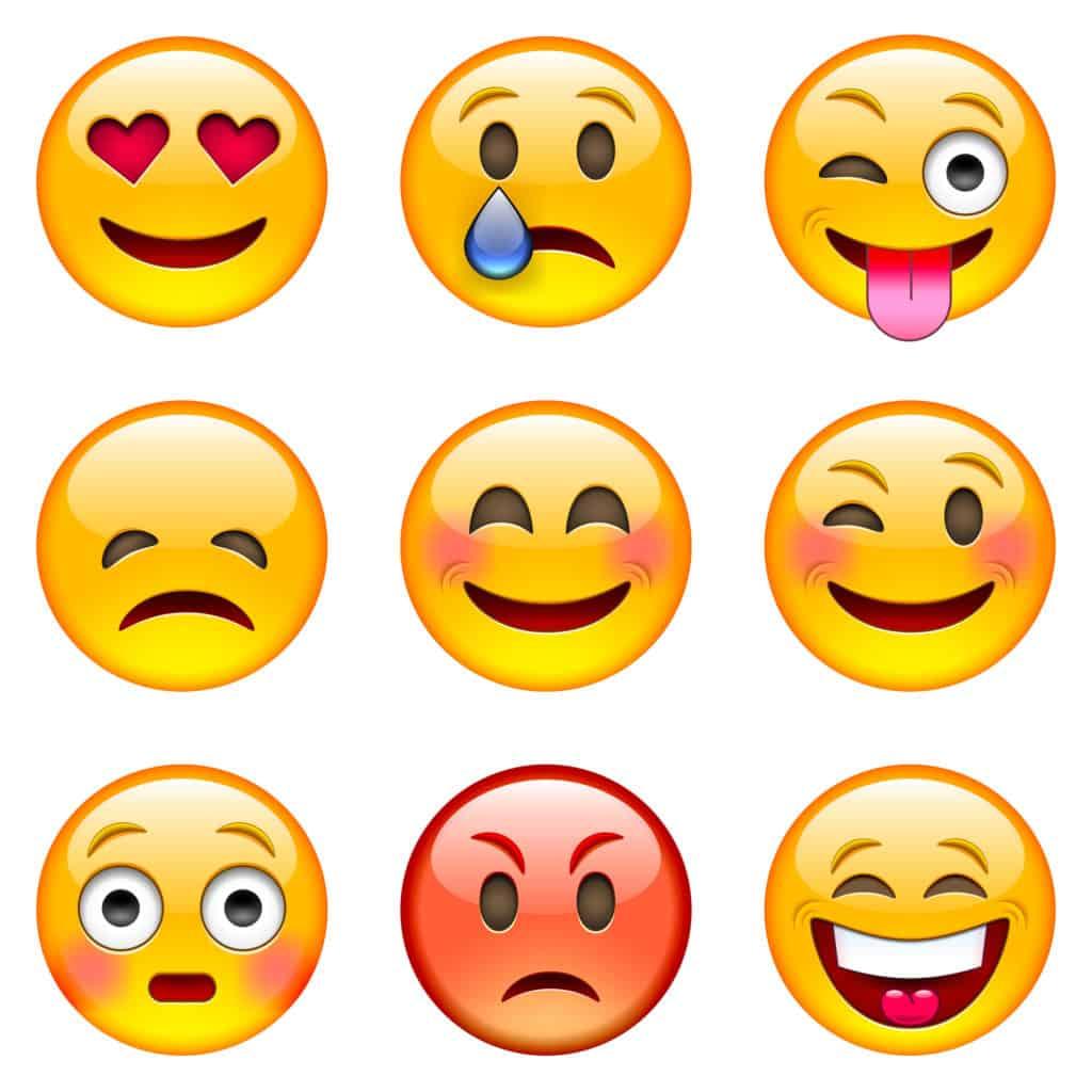 send an emoticon