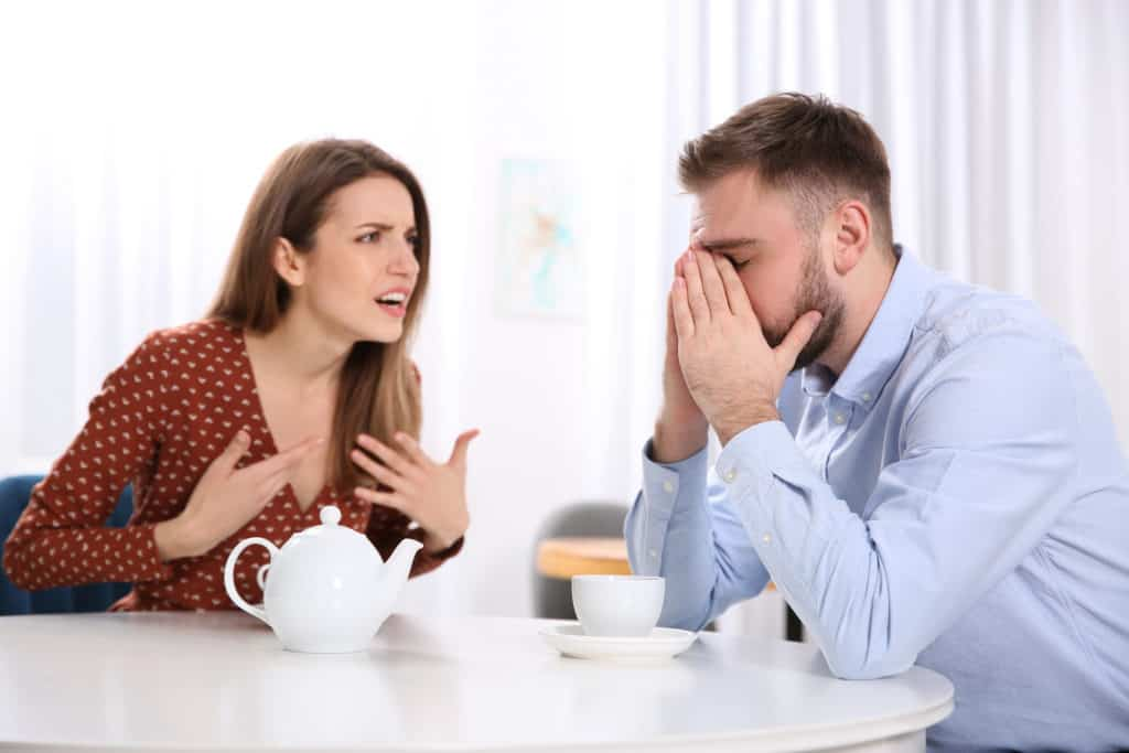 contradict your partner's views or opinions